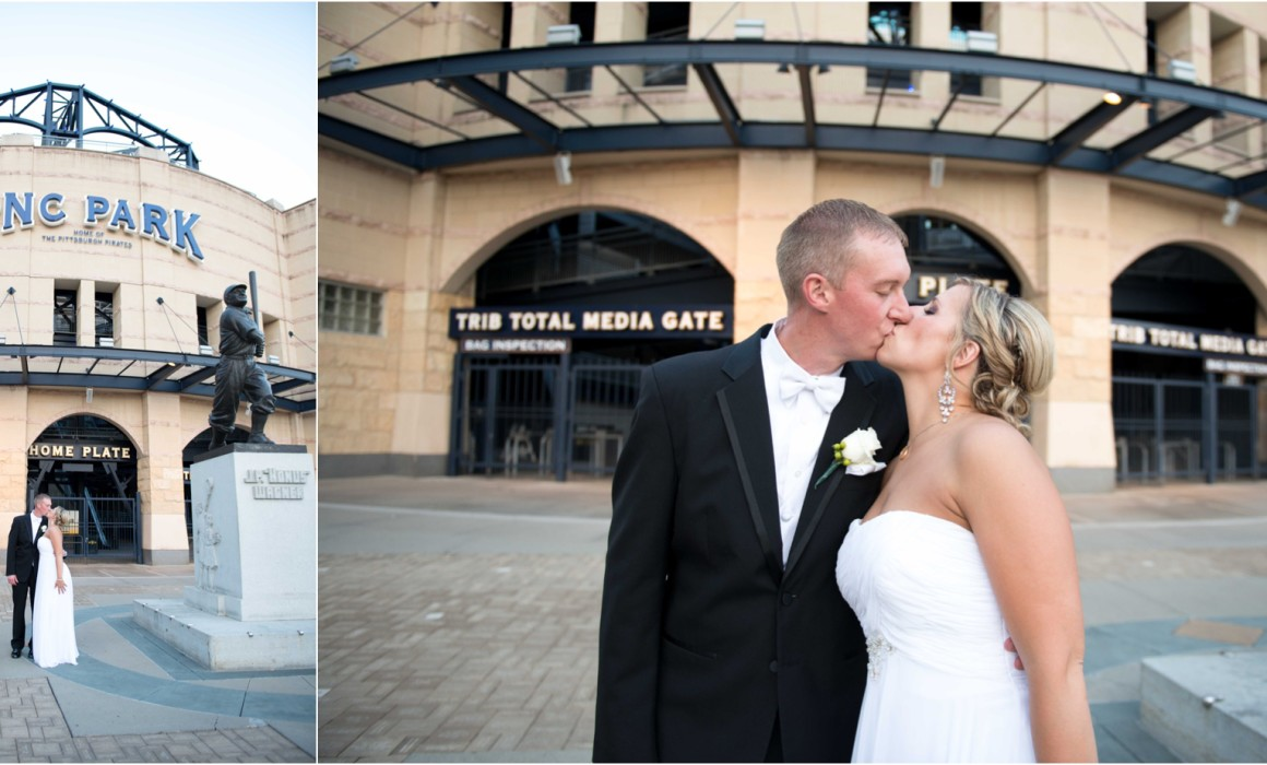 Keystone Corner - PNC Park Wedding Photography