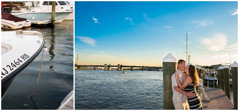 new jersey shore engagement photography