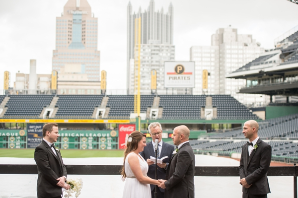 dugout Wedding PNC park