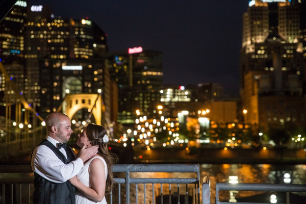 PNC Wedding Nighttime photo