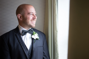 Pittsburgh Groom in Hotel