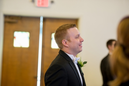 groom on wedding day